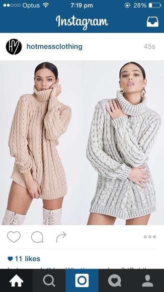 sweater turtleneck sweater knitted sweater cable knit oversized sweater