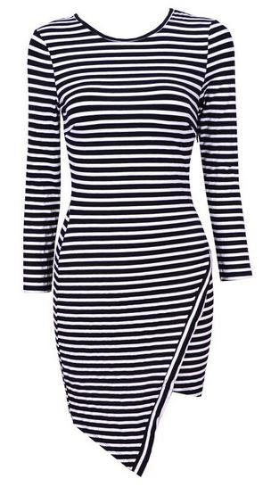 Striped Cassie Dress