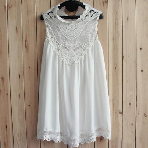 Crochet lace vintage white dress · love, fashion struck ·