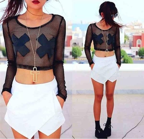 shirt clothes shorts