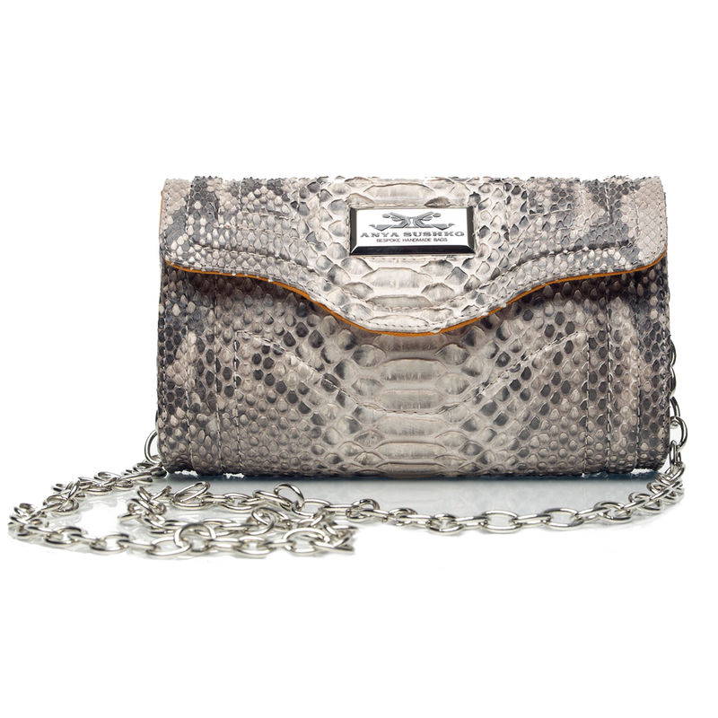 Severina Cream Diamond Handbag by Anya Sushko - Anya Sushko Shop