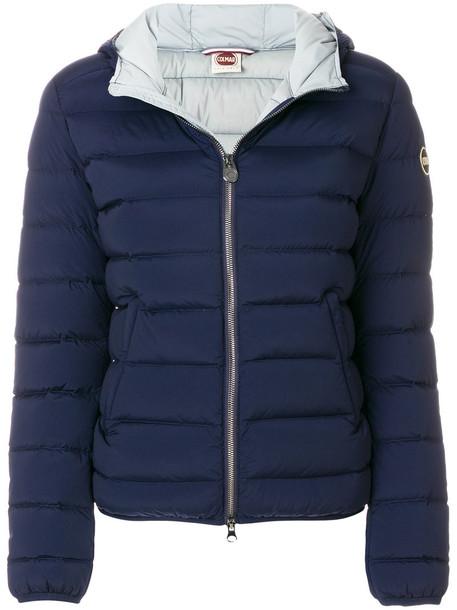 Colmar jacket women spandex blue