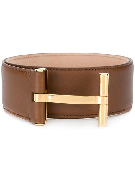 women belt brown