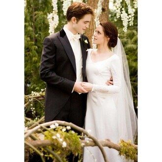 twilight kristen stewart wedding dress mens suit