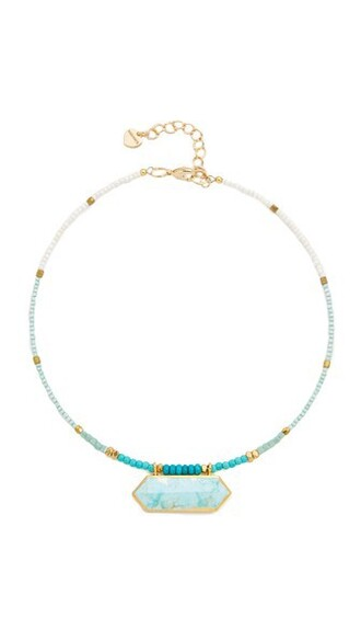 necklace turquoise jewels