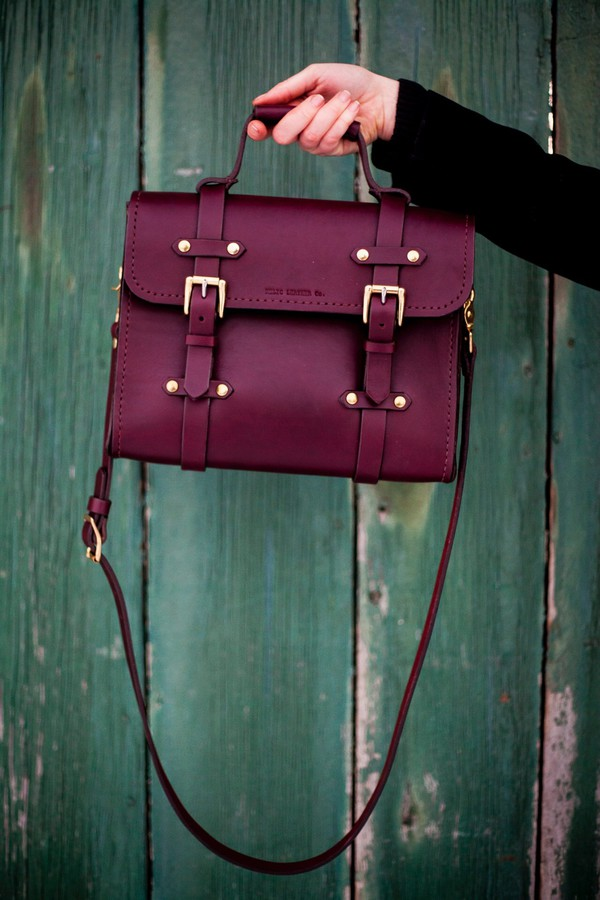 Burgundy Satchel Bag - Shop for Burgundy Satchel Bag on Wheretoget