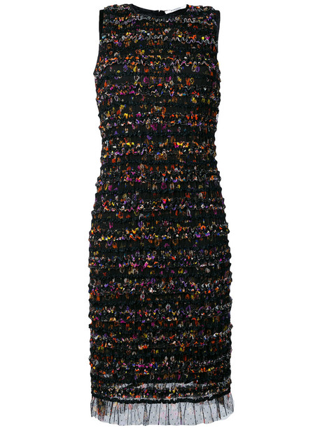 Givenchy dress shift dress mesh women spandex black