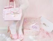 shoes,pink shoes,pastel pink,cute pastel pink shoes,light pastel pink shoes,pink heels,marabou,marabou feather,katie