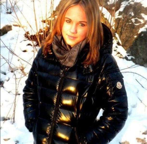 Coat Jacket Winter Outfits Black Moncler Girly