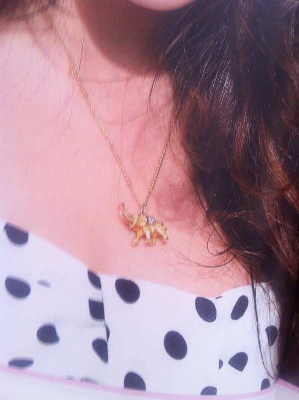 jewels necklace elephant lucky