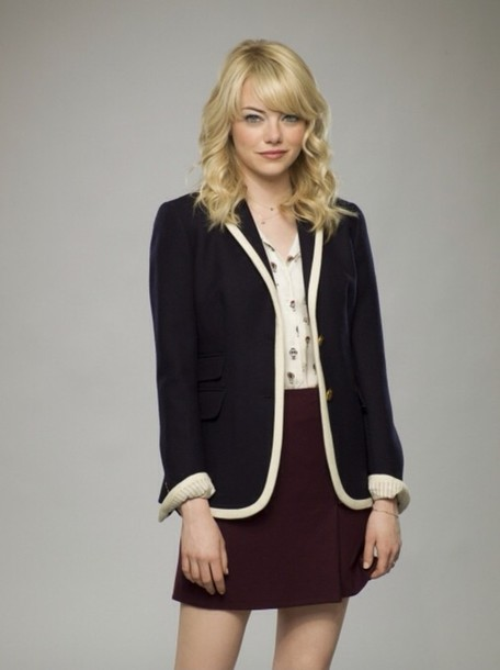 blouse i really want some more options for a gwen stacy cosplay! any ideas on any gwen stacy outfits???????