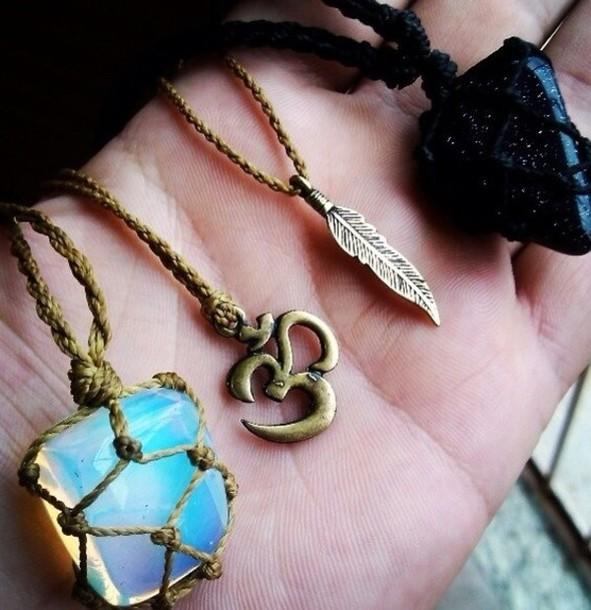 jewels necklace gemstone diamonds
