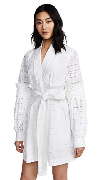 Acler dress wrap dress