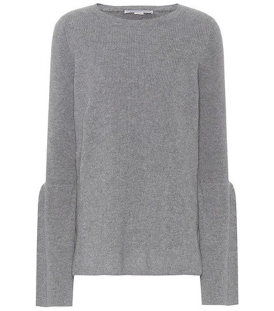 Stella McCartney sweater wool sweater wool grey