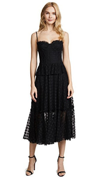 MILLY dress black