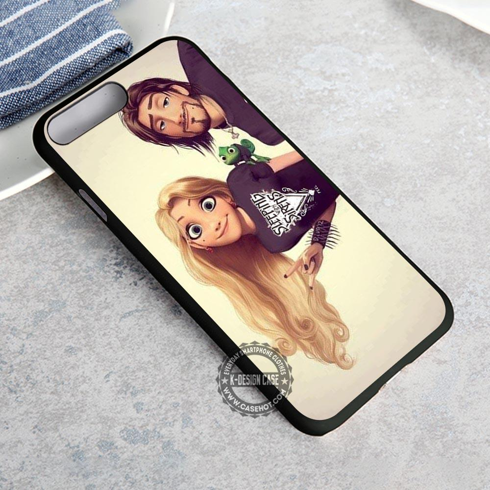 Rapunzel Punk Sleeping with Sirens iPhone X 8 7 Plus 6s Cases Samsung Galaxy S8 Plus S7 edge NOTE 8 Covers #iphoneX #SamsungS8