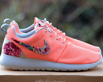 nike nike roshe coral florals