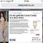 dress,maries boutique,sequin dress,glitter dress,see through dress,mesh dress,lizzie cundy,celeb,celebrity,style