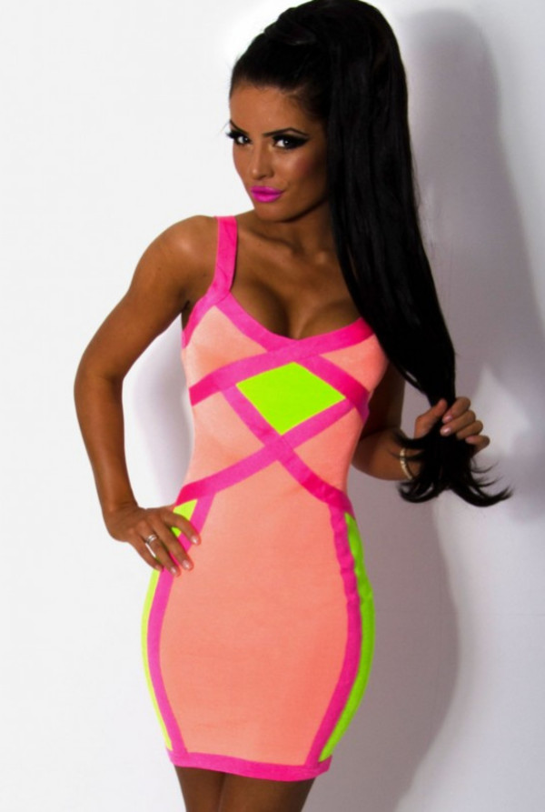 Neon colored dresses uk