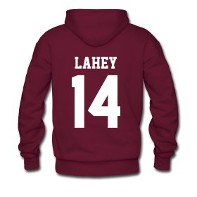 """LAHEY 14"" - Hoodie (XL Logo, NBL) 