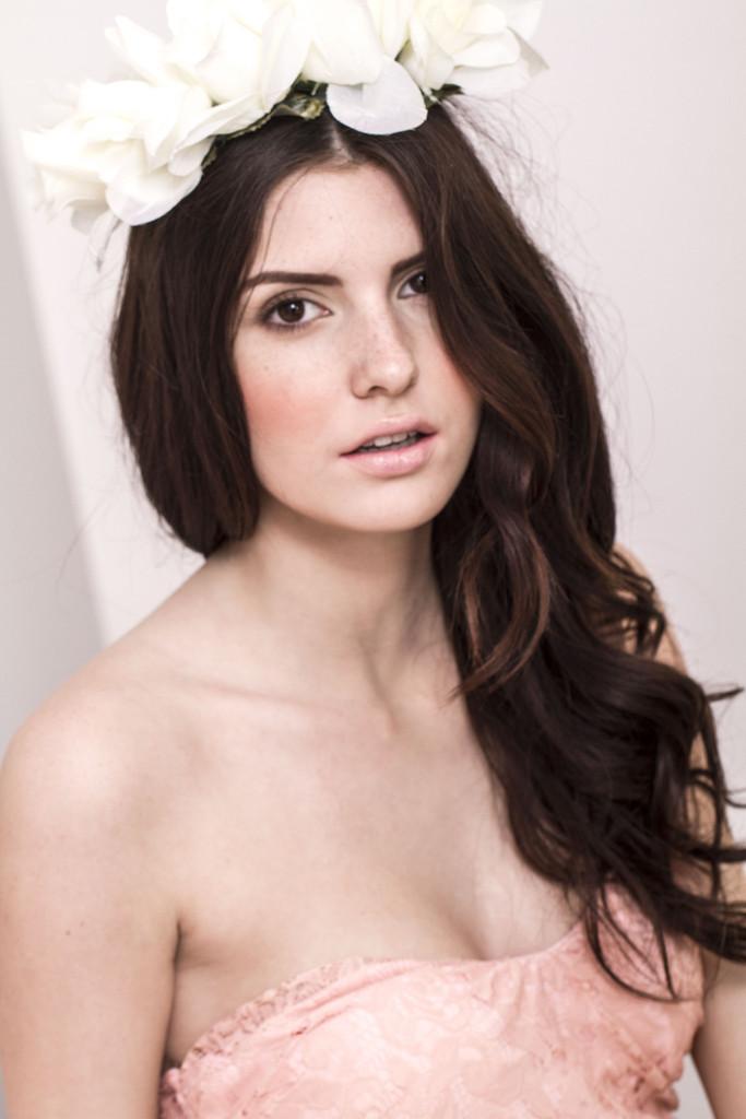 Rose Goddess Flower Crown-White | Obsezz