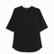 Theory women`s silk split neck blouse