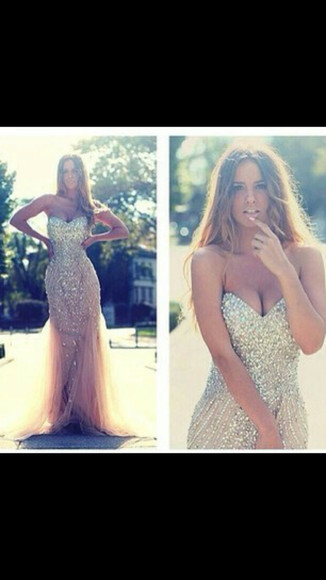 glitter dress glitter long prom dress long dress
