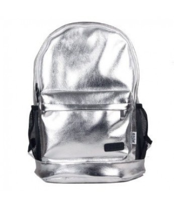 PU leather laser backpack