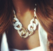 jewels,necklace,gold,white,jewelry,gold chain,diamonds