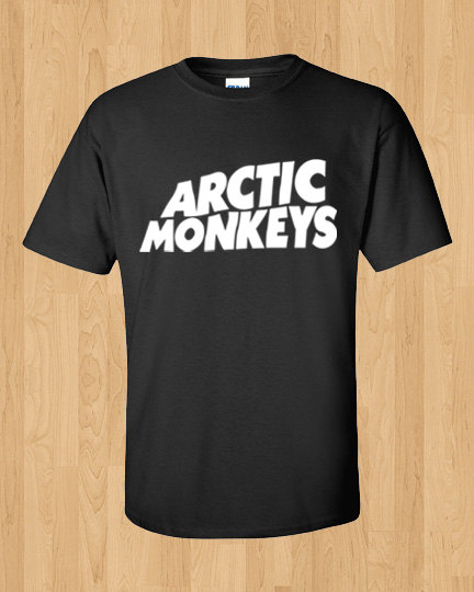 Arctic Monkeys Shirt  English Indie rock tshirt  door OwnageTees