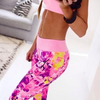 leggings pink sweats pink leggings