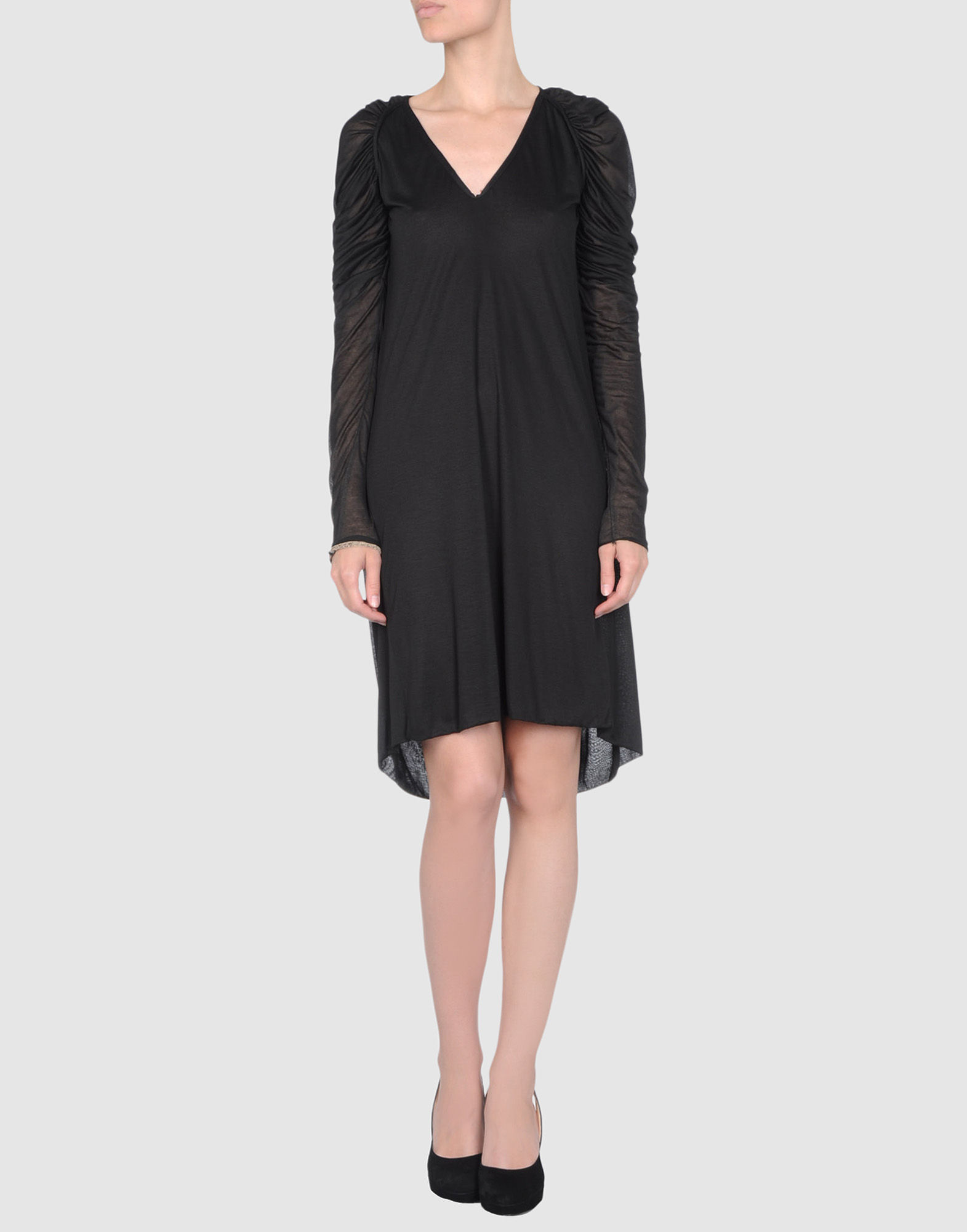 Marco de vincenzo black short dress