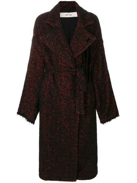 Damir Doma coat women cotton black wool