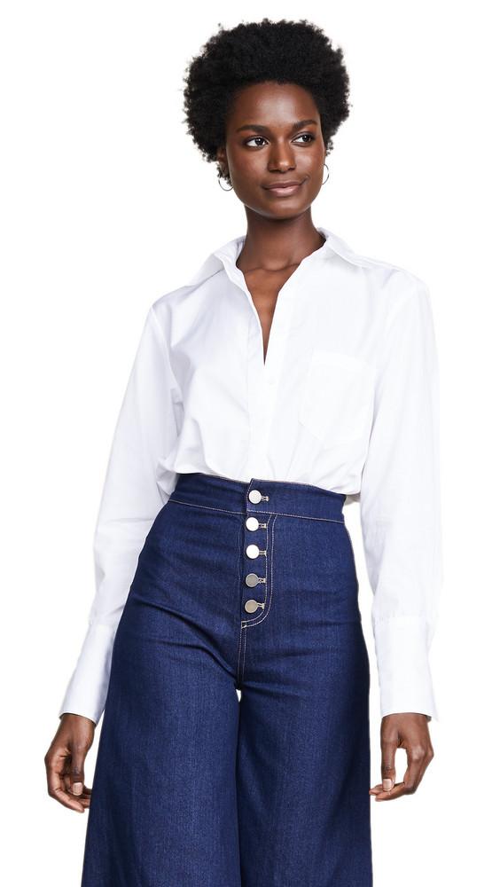 Alix Howard Bodysuit in white