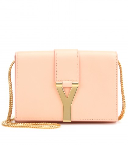 mytheresa.com -  Classic Y Small leather shoulder bag - shoulder bags - bags - Luxury Fashion for Women / Designer clothing, shoes, bags