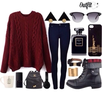 jeans outfit jewels