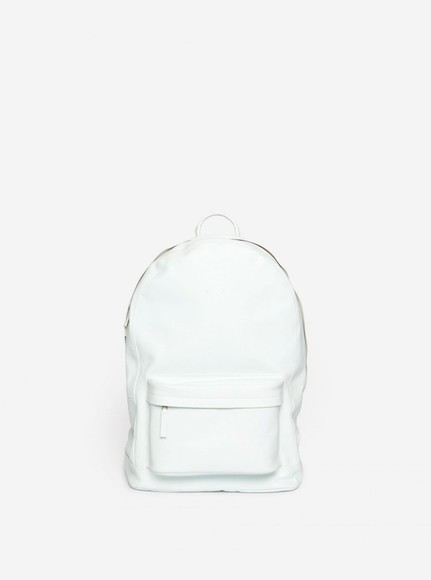 white pale bag classy simple