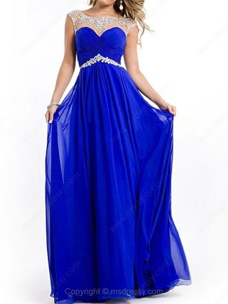 dress prom dress blue dress blue blue prom dress blue prom dresses chiffon chiffon dress blue chiffon blue chiffon dress sheer neckline sheer neckline dress