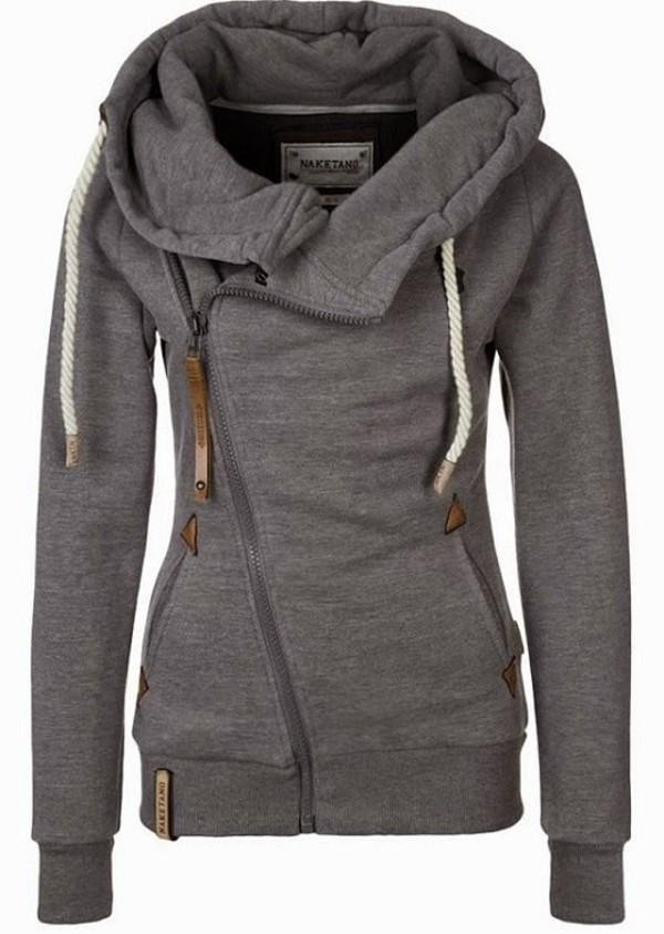 jacket naketano side zip cardigan