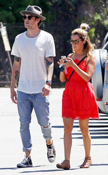 ashley tisdale sunglasses shoes