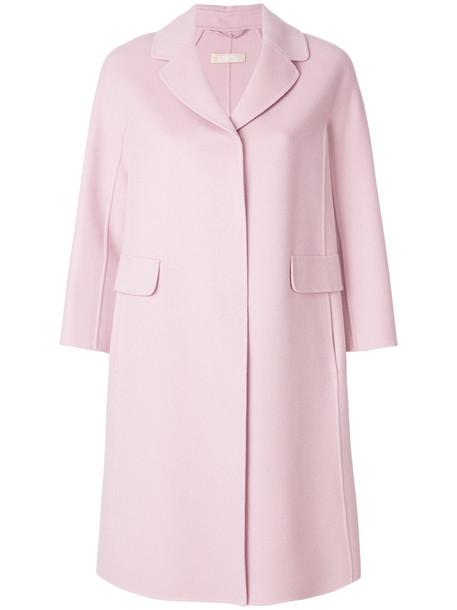 'S Max Mara coat women wool purple pink