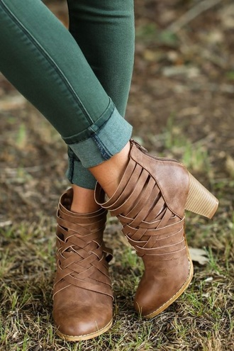 shoes ankle boots brown boots fall boots