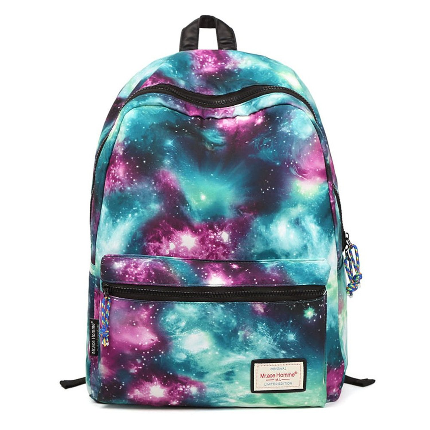 1b853aabbd Amazon.com  HotStyle TrendyMax Galaxy Pattern Vintage Style Unisex Fashion  Casual School Travel Laptop Backpack Rucksack ...