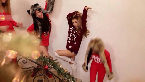 sweater ariana grande knitwear christmas sweater