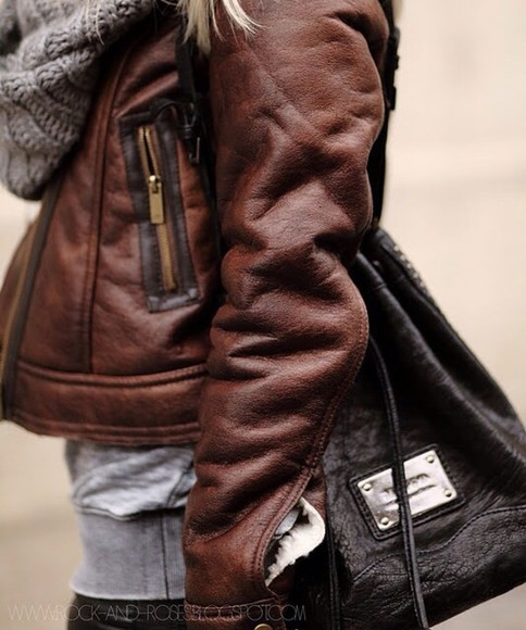 leather jacket leather jacket cute cozy musthave brown leather jacket