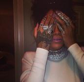 jewels,ring,rihanna,jewelry,bling,rihanna style,rihanna jewelry