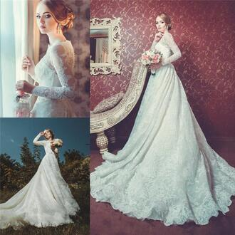dress luxury wedding dresses long sleevs wedding dresses high neck wedding dresses a line wedding dresses arabic wedding dresses muslim wedding dresse russia wedding dresses brazil wedding dresses boho wedding dresses princess wedding dresses