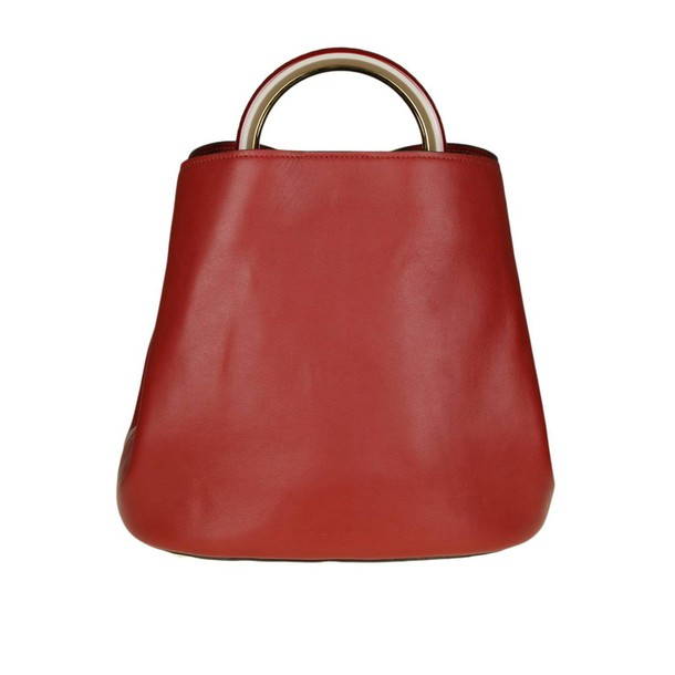MARNI women bag handbag shoulder bag purple red