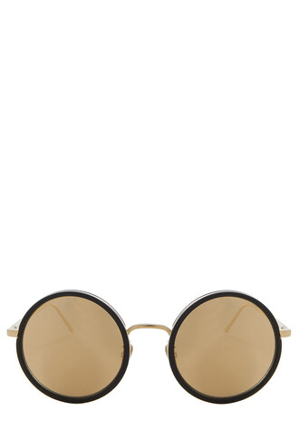 sunglasses gold yellow 24