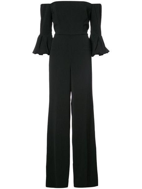 JAY GODFREY jumpsuit women spandex black